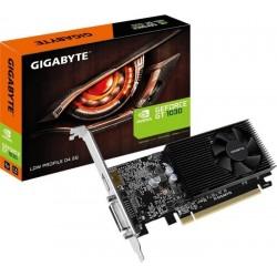 Видеокарта Gigabyte GeForce GT1030 Low Profile 2GB DDR4 64bit (GV-N1030D4-2GL)