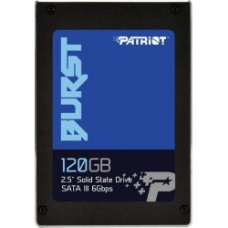 Накопичувач SSD 120GB Patriot Burst (PBU120GS25SSDR)