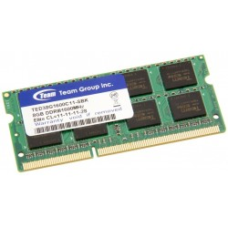Пам'ять SO-DIMM 8GB DDR3 1600MHz Team Elite (TED38G1600C11-S01)