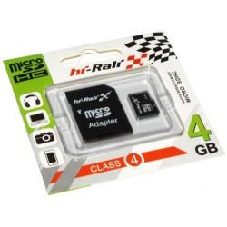 Карта пам'яті microSDHC 4ГБ Hi-Rali, Class4 (HI-4GBSDCL4-01)