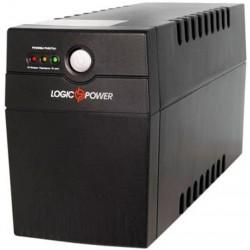 ИБП LogicPower LPM-700VA-P Black линейно-интерактивный 12В/7.5Ач x 1 (700VA/490W), 2x Schuko