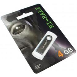 USB флеш-накопичувач 4GB Hi-Rali Shuttle series Black (HI-4GBSHBK)