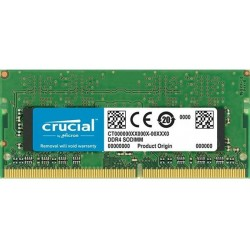 Пам'ять SO-DIMM 4GB DDR4 2666MHz Crucial (CT4G4SFS8266)