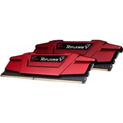Память 16Gb x 2 (32Gb Kit) DDR4, 3600 MHz, G.Skill Ripjaws V, Red, 19-20-20-40, 1.35V (F4-3600C19D-32GVRB)