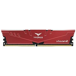 Пам'ять 8GB DDR4 2666MHz Team T-Force Vulcan Z, Red (TLZRD48G2666HC18H01)