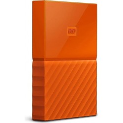 "Зовнішній накопичувач Western Digital My Passport Orange 2.5"" USB 3.0 (WDBYNN0010BOR-WESN)"