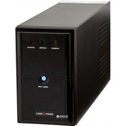ИБП LogicPower LPM-U825VA Black линейно-интерактивный AVR 12В/9Ач x 1 (825VA/577W), 2x Schuko