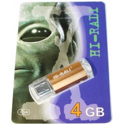 USB флеш-накопичувач 4GB Hi-Rali Corsair series Bronze (HI-4GBCORBR)