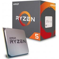 Процессор AMD Ryzen 5 1600 (s.AM4) 6x3.2GHz BOX (YD1600BBAFBOX)