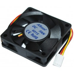Кулер до корпусу 60 mm ATcool 6015 DC sleeve fan 3pin - 60*60*15мм