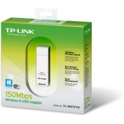 Мережева карта TP-Linkез TL-WN727N Wi-Fi 802.11g/n 150Mb, USB 2.0, Supports Sony PSP
