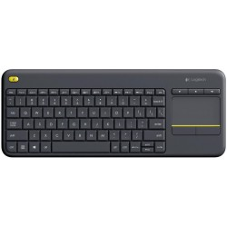 Клавіатура Logitech K400 Plus WL Touch Black (920-007147)