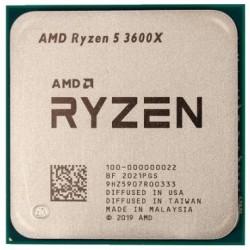 Процессор AMD Ryzen 5 3600X (s.AM4) 6x3.8GHz Tray (100-000000022)