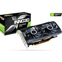 Відеокарта Inno3D GeForce GTX 1660 SUPER TWIN X2 6Gb DDR6, 192-bit (N166S2-06D6-1712VA15L)