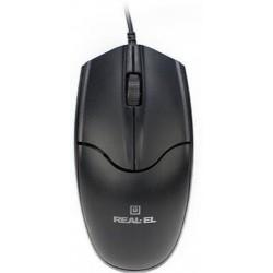Мышь REAL-EL RM-410 Silent Black