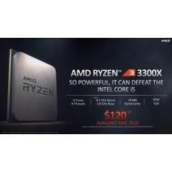 Процессор AMD Ryzen 3 3300X (s.AM4) 4x3.8GHz BOX (100-100000159BOX)