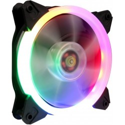Кулер 1stPlayer R1 Color LED bulk; 120х120х25мм, 4-pin