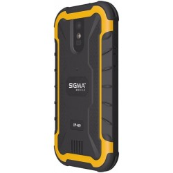 Смартфон Sigma Х-treme PQ20 Black-Orange 1/8Gb