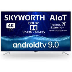 "Телевізор 50"" Skyworth 50Q20, 4K 3840x2160, Smart TV AI UHD Dolby Vision (50Q20 AI)"