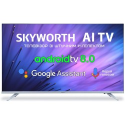 "Телевізор 32"" Skyworth 32E6, FullHD Smart TV FHD AI (32E6)"