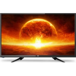 "Телевізор 24"" DEX LE2455ТS2, LED HD 1366x768 50Hz, DVB-T2, HDMI, USB, VESA (100x100)"