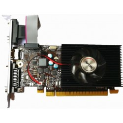 Відеокарта GeForce GT730, AFOX, 1Gb DDR3, 128-bit, VGA/DVI/HDMI, 902/1333MHz, Low Profile (AF730-1024D3L7-V1)