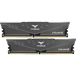 Пам'ять 8Gb x 2 (16Gb Kit) DDR4, 3600 MHz, Team Vulcan Z, Grey (TLZGD416G3600HC18JDC01)