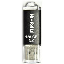 USB флеш-накопичувач 128Gb Hi-Rali Rocket series Black (HI-128GB3VCBK) USB 3.0