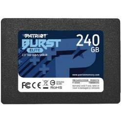 Накопитель SSD 240GB Patriot Burst Elit SATA3 (PBE240GS25SSDR)