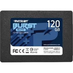 Накопитель SSD 120GB Patriot Burst Elit (PBE120GS25SSDR)