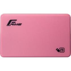 "Внешний карман Frime SATA HDD/SSD 2.5"" USB 2.0 Plastic Pink (FHE12.25U20)"