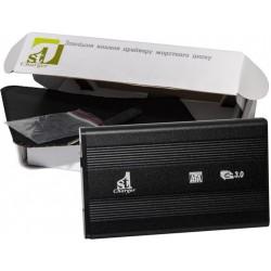 """Внешний карман 1StCharger SATA HDD/SSD 2.5"""" USB 3.0 Black (HDE1STU2530B)"""